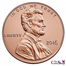 2016-P Lincoln Shield Cent