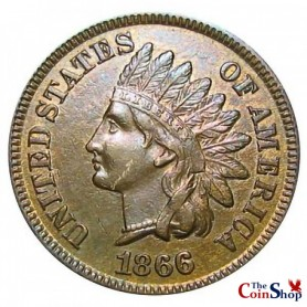 1866 Indian Head Cent Key Date