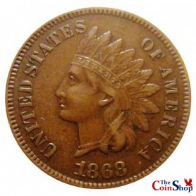 1868 Indian Head Cent Key Date