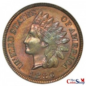 1886 Type 2 Indian Head Cent