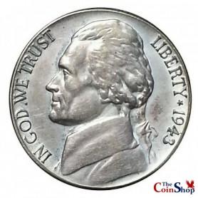 1943-S Silver Jefferson Nickel