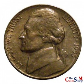 1955-D Jefferson Nickel