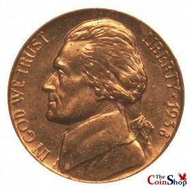 1938-P Jefferson Nickel