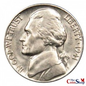 1941-P Jefferson Nickel