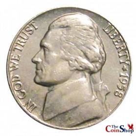 1958-P Jefferson Nickel