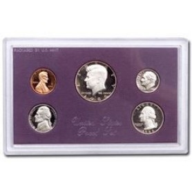 1986-S United States Mint Proof Set