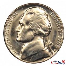 1968-D Jefferson Nickel