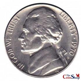 1970-D Jefferson Nickel