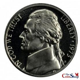 1973-S Jefferson Nickel