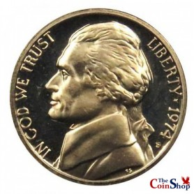 1974-S Jefferson Nickel