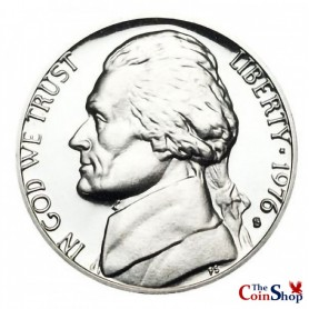 1976-S Jefferson Nickel
