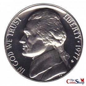1977-S Jefferson Nickel