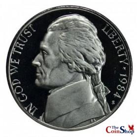 1984-S Jefferson Nickel