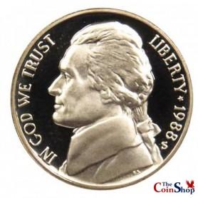1988-S Jefferson Nickel
