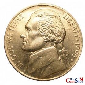 1995-D Jefferson Nickel