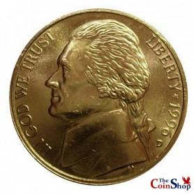 1996-D Jefferson Nickel
