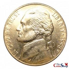 1998-D Jefferson Nickel