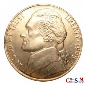 1998-P Jefferson Nickel