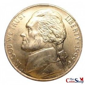 1999-P Jefferson Nickel