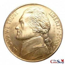 2000-P Jefferson Nickel