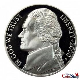 2000-S Jefferson Nickel