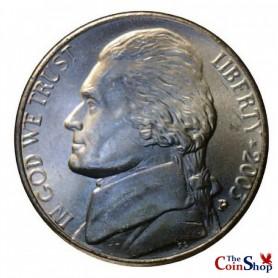 2003-P Jefferson Nickel