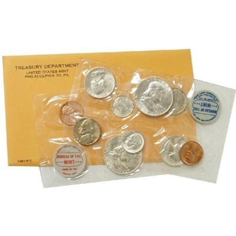 1961 U.S Mint Uncirculated Set