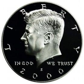 2000-S Kennedy Half Dollar Silver Proof