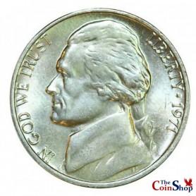 1971-P Jefferson Nickel