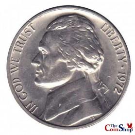 1972-P Jefferson Nickel
