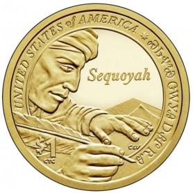 2017-S Sequoyah Sacagawea Dollar Proof