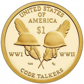 2016-S Code Talkers Sacagawea Dollar Proof