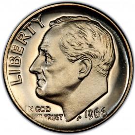 1966-P SMS Roosevelt Dime (Special Mint Strike)