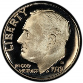 1979-S Type 1 Proof Roosevelt Dime