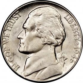 1946-D Jefferson Nickel