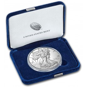 2016-W American Silver Eagle Lettered Edge Proof 1 oz.