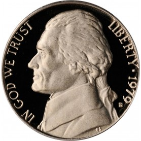 "1979-S Jefferson Nickel Type 1 Filled ""S"""