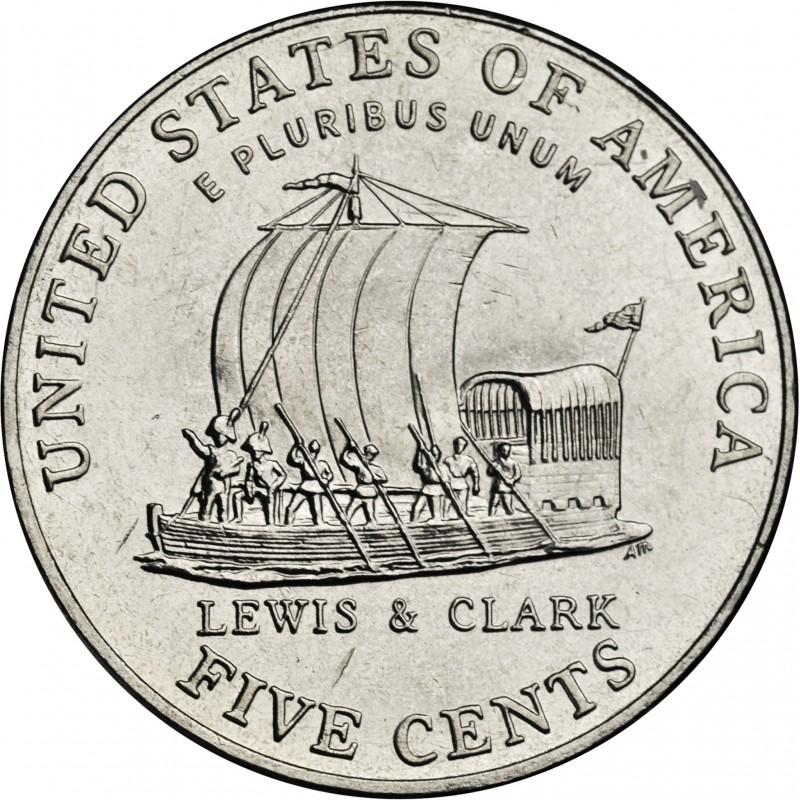 2004-D Jefferson Nickel Keel Boat