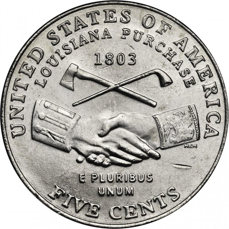 2004-D Jefferson Nickel Peace Medal