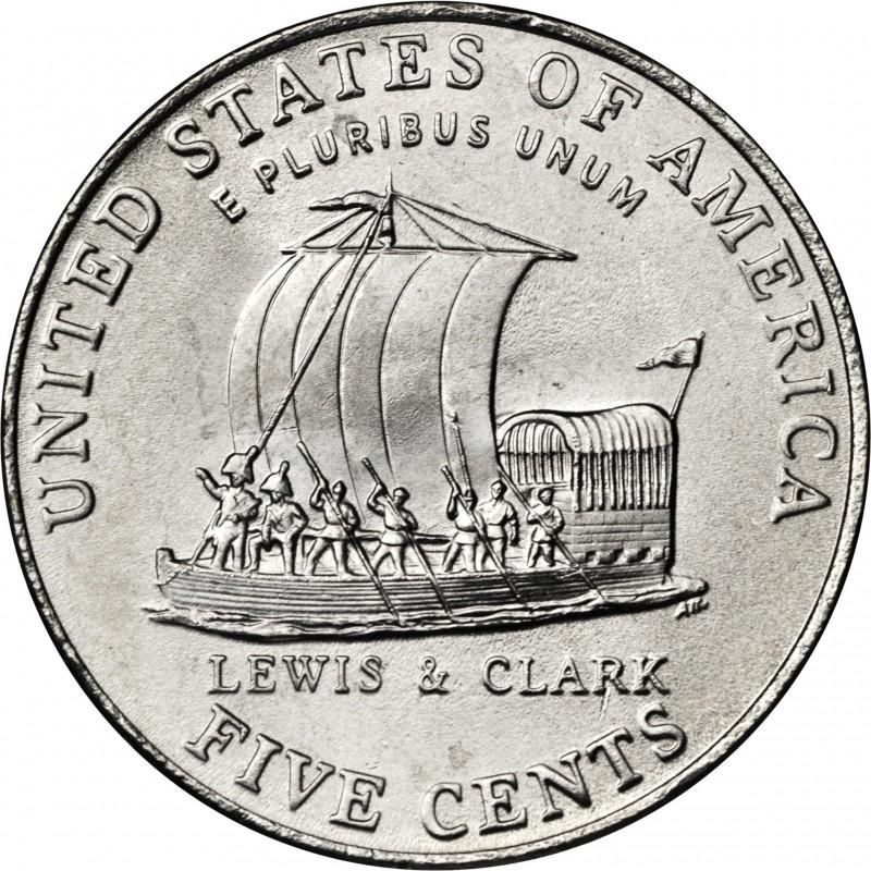 2004-P Jefferson Nickel Keel Boat