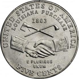 2004-P Jefferson Nickel Peace Medal