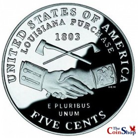 2004-S Jefferson Nickel Peace Medal