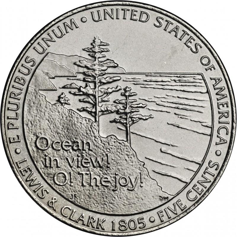 2005-D Jefferson Nickel Ocean In View
