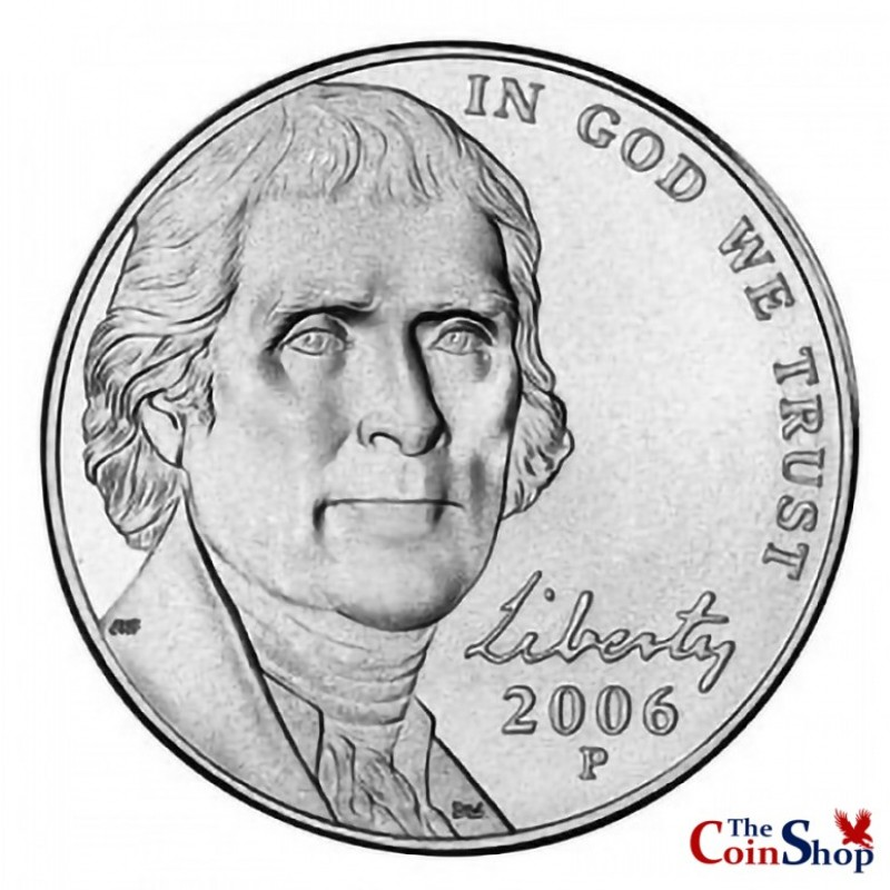 2006-P Jefferson Nickel