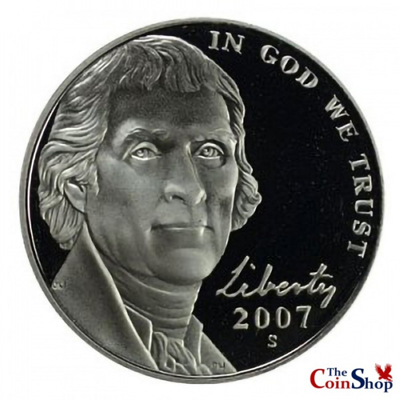 2007-S Jefferson Nickel