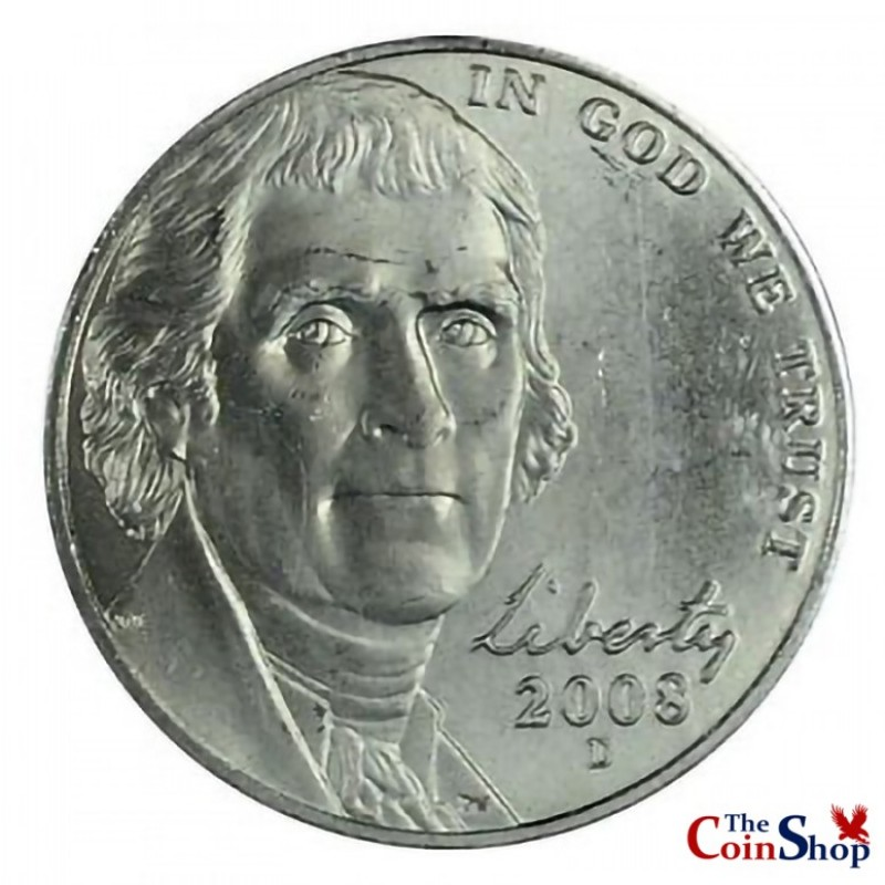2008-D Jefferson Nickel