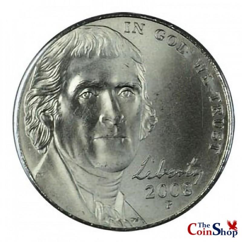 2008-P Jefferson Nickel