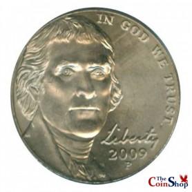 2009-P Jefferson Nickel