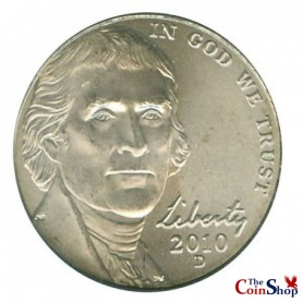 2010-D Jefferson Nickel