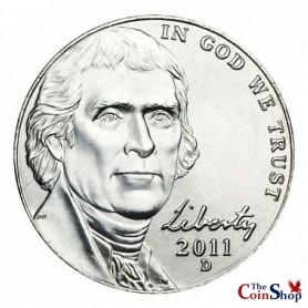 2011-D Jefferson Nickel